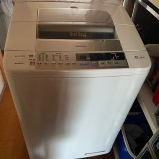 あげます 日立洗濯機