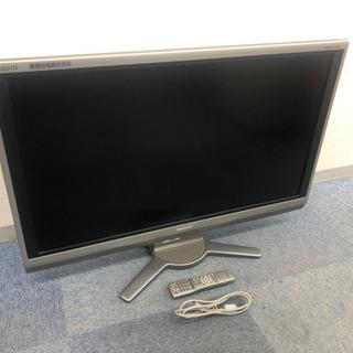 ■動作品■SHARP 40型 液晶カラーテレビ TV リモコン付き