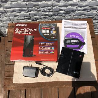 BUFFALO バッファロー 無線LAN親機 WHR-G300N