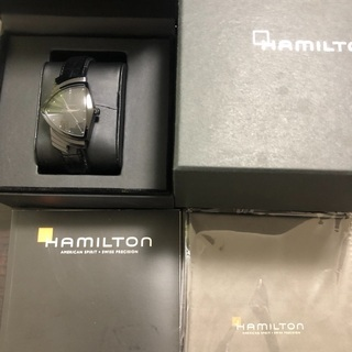 ハミルトン ベンチュラ フルブラック 腕時計