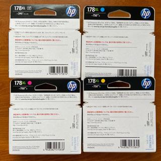 HP 純正 インクカートリッジ 4本