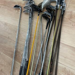 ゴルフクラブ ドライバー アイアン 15本以上 新品あり