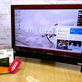 【快適21.5型◆地デジ視聴OK】新品SSD 512GB, Co...