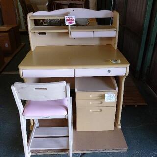 現品限り!デスク+椅子+キャビネット 3点セット 1万円税込!