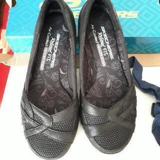 新品 スケッチャーズ 靴 レディース 22.5㎝ シュー…