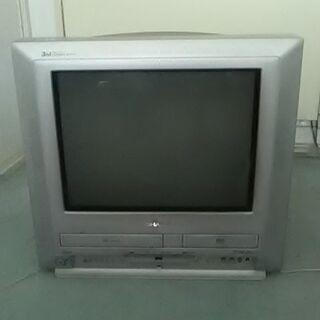シャープブラウン管テレビ17型ビデオDVD一体VT-17DV30