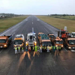 新千歳空港 滑走路補強関連工事