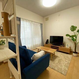 3階建て最上階のバルコニー付のお部屋です!! 家具家電設置相談可...