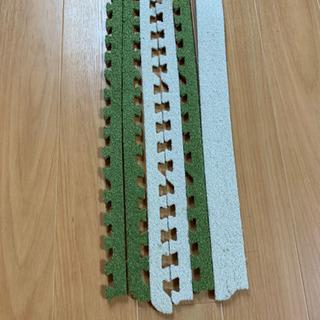 【ネット決済】ニトリ 洗えるジョイントマット フチ 45センチ