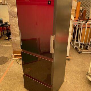 SHARP製冷蔵庫 SJ-GW36D-R 2018年製 356L 中古