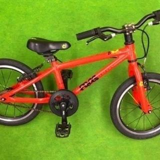 【ネット決済】イギリス FROG 子供用自転車 16インチ