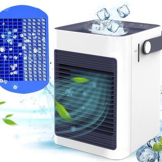 新品未使用!冷風機  冷風扇 卓上 ミニ冷風扇 扇風機 小型 U...