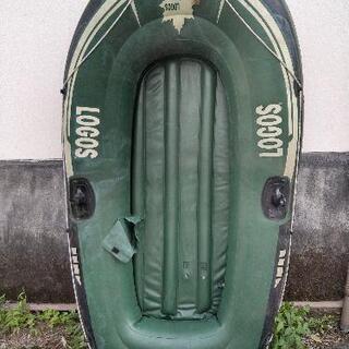 ロゴス フローターボート2人乗り❗