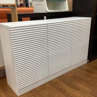 キッチンカウンター 下段収納 ホワイト