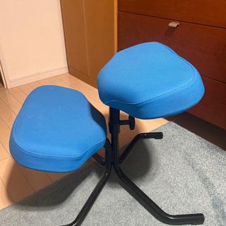バランススタディ 青(姿勢が良くなる椅子)