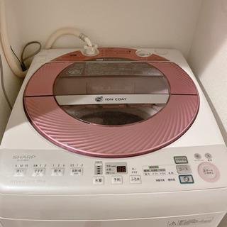 6/22.23限定☆ シャープ 8.0kg 全自動洗濯機 風乾燥...