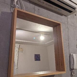 【ネット決済】60cm*60cm インテリア鏡