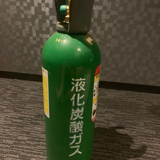 決まりました。緑ボンベ 二酸化炭素 5 kg 満タン