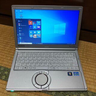 ㊷【美品、SSD、第3世代i5、オフィス】軽量1.2Kg レッツ...