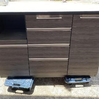 川口家具 フィーノ 140 キッチンローボード