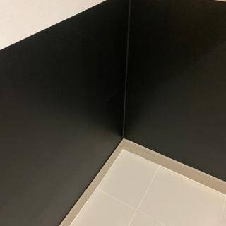 【剥がせる 壁紙シート黒】幅45cm×長さ10m ×0.1mm