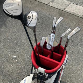 決まりました ゴルフクラブとゴルフバッグセット クラブ8本
