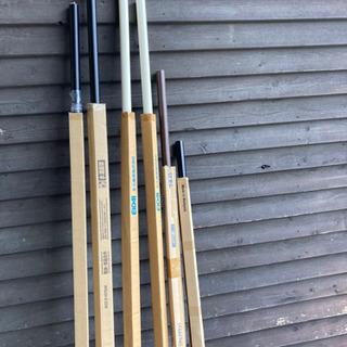 廃材ロス DIY  階段手摺り棒 色々あります