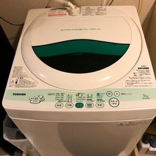 【引取り限定・お譲りします】TOSHIBA AW-505(w) ...