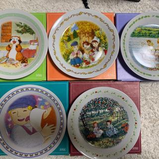 【ネット決済・配送可】世界名作劇場 お皿 セット売り可
