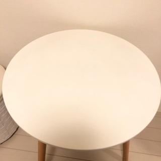【ネット決済・配送可】直径60センチ カフェテーブル