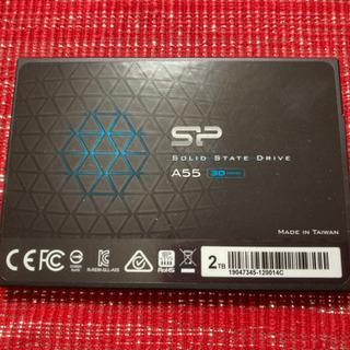 【ネット決済・配送可】シリコンパワー SSD 2TB 3D NA...