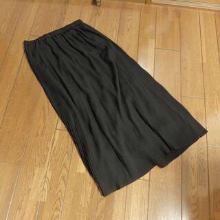 ユニクロ ロングスカート 黒 Sサイズ