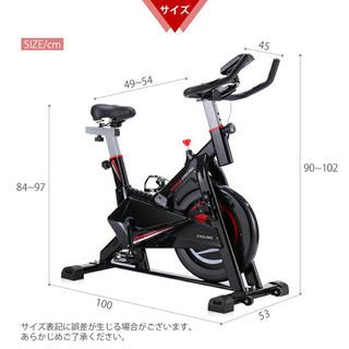 スピンバイク フィットネスバイク10kg