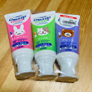 【取引中】歯磨き剤チェックアップ 3本セット