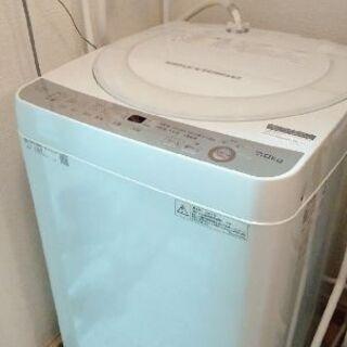 2017年製 SHARP 7kg 洗濯機 ES-GE7B