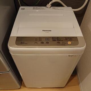 【ネット決済】パナソニック洗濯機6kg