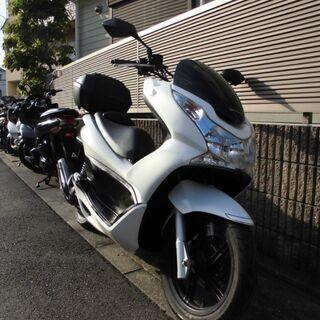 【ネット決済】ホンダPCX125CC JF28(ホワイト)その②