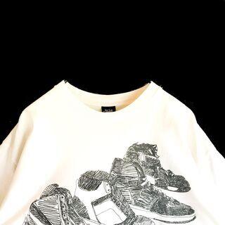 【STUSSY】00's メキシコ製 プリント Tシャツ ステューシー