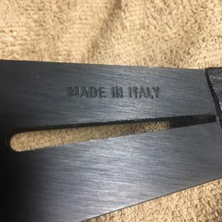 本物 ナルディ  レザーステアリング ブラック 36.5パイ  - 売ります・あげます