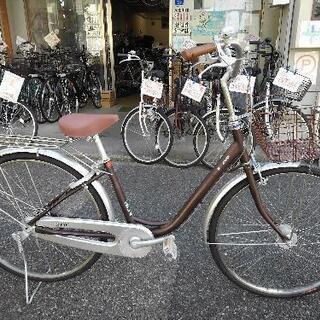 中古自転車1571 前後タイヤ新品! ブリヂストン カルー…