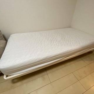 【ネット決済】MUJI SINGLE BED |無印良品 脚付き...