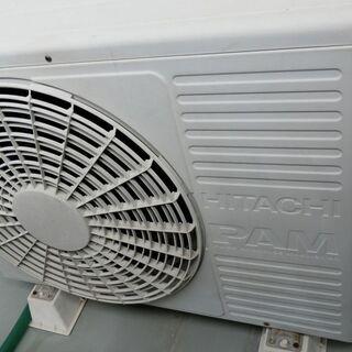 日立エアコン RAS-E36V 2006年製 可動エアコン  - 家電