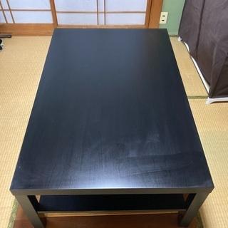 【ネット決済】ローテーブル 収納段あり 118×78