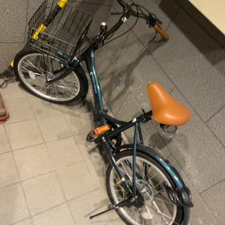 【ネット決済】折り畳み自転車 20インチ