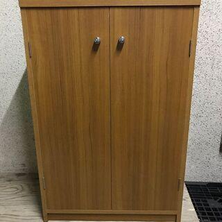 木製 5段 下駄箱 シューズボックス 靴箱 収納棚 幅61cm×...