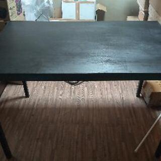 【ネット決済】IKEAのワークデスク、2人用のダイニングテーブル