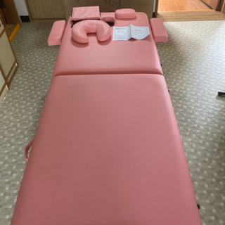 取引先決定]NEWステラ6 ピンク 折り畳みマッサージベッド