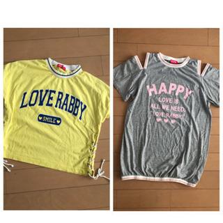 女児服☆Tシャツsize160 2点セット