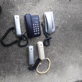 【ネット決済】電話機5台セット 中古品