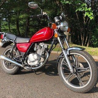 セカンドバイクにお勧め! GN125H 自賠責約1年付